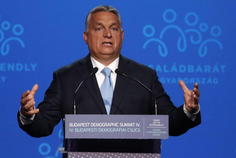 Orban Speaks at Summit