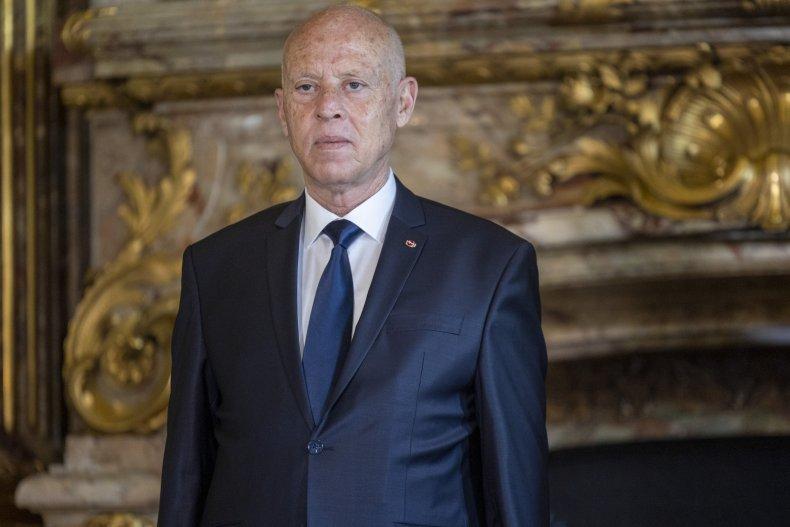 President of the Republic of Tunisia Saied