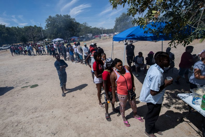 Haitian migrants in Mexico