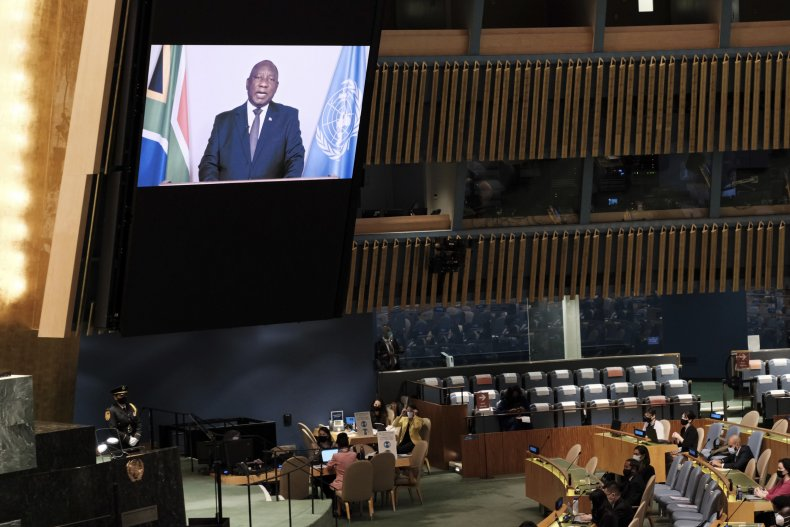 African Leader Decry Vaccine Inequity