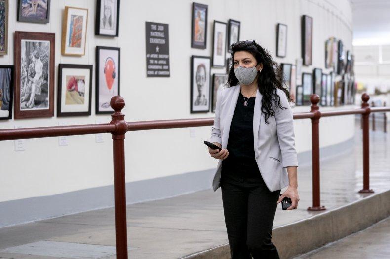 Rashida Tlaib opposes funding for Israel defense
