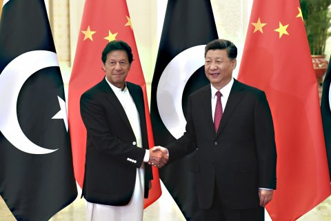 Imran Khan Xi Jinping China Pakistan