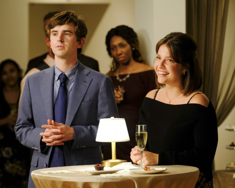 The Good Doctor Freddie Highmore Paige Spara