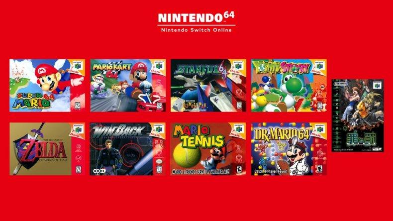 Nintendo Switch Online N64 Line-Up