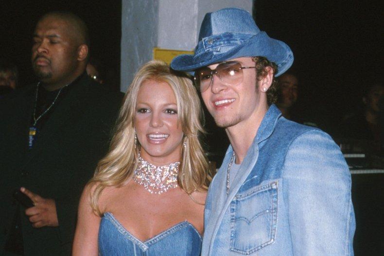 Britney Spears and ex-boyfriend Justin Timberlake