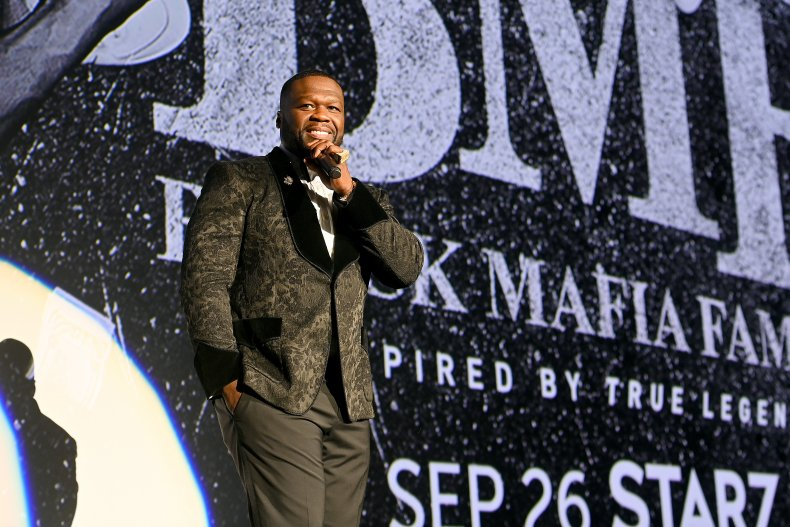 BMF concert launched 50 Cent