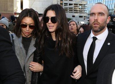 Kendall Jenner with Bodyguard Simon Newton