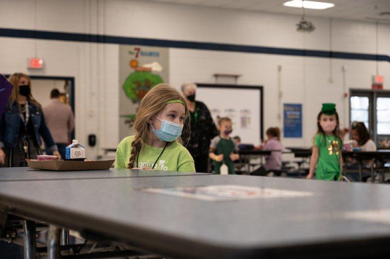School Children Mask COVID Students Outbreak