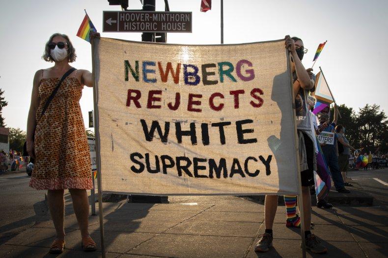 Newberg LGBT and BLM Ban