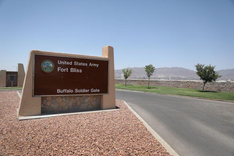 Military base Fort Bliss