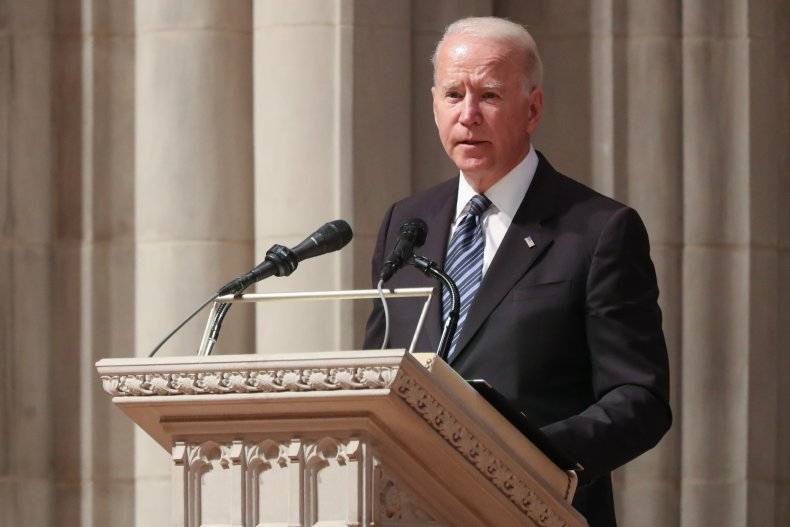 Joe Biden Speaks at the National Cathedral