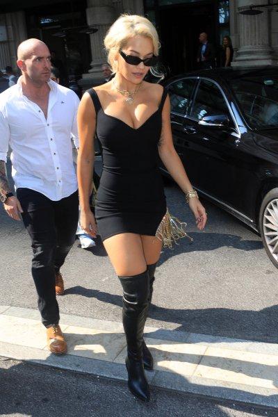 Rita Ora and bodyguard Simon Newton