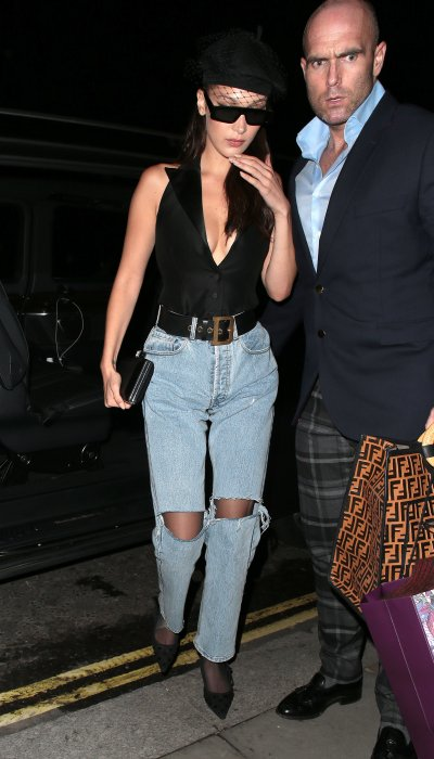 Bella Hadid and bodyguard Simon Newton