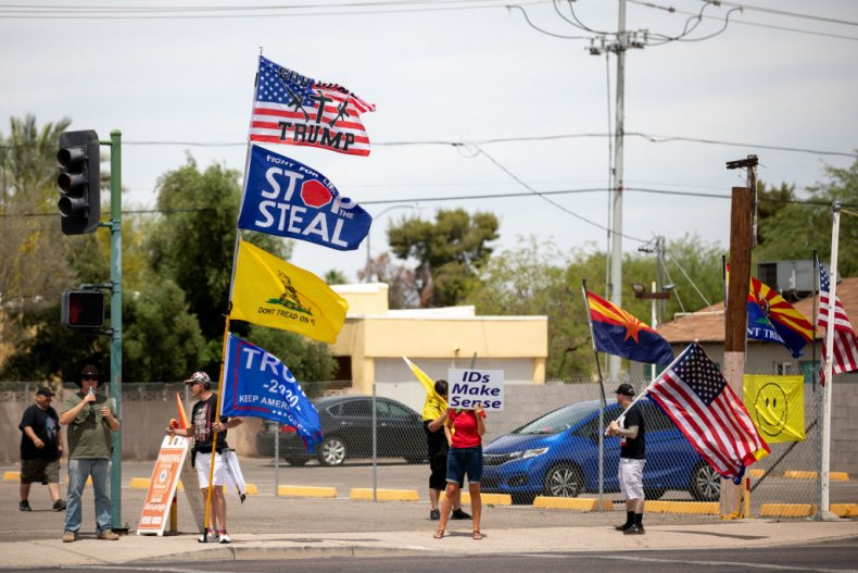 Arizona Stop the Steal protest
