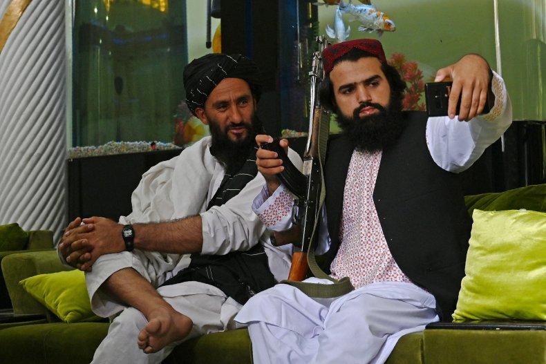 Taliban selfies in Kabul
