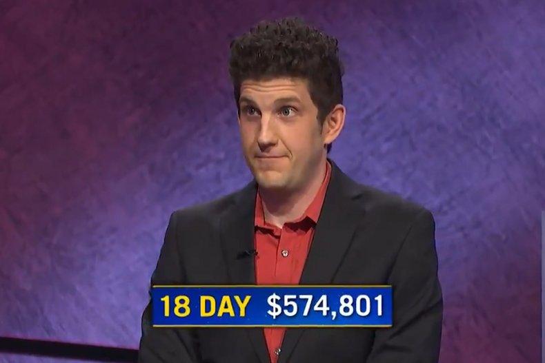 """Jeopardy!"" star Matt Amodio"