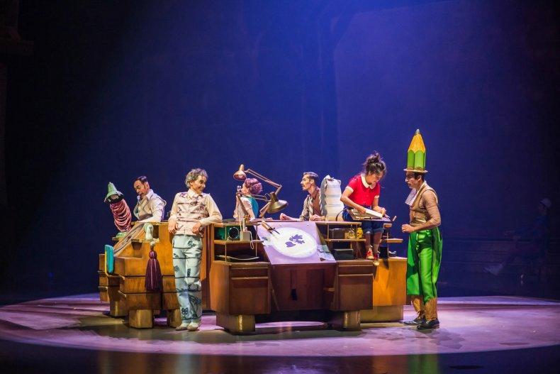 Cirque Du Soleil Drawn To Life
