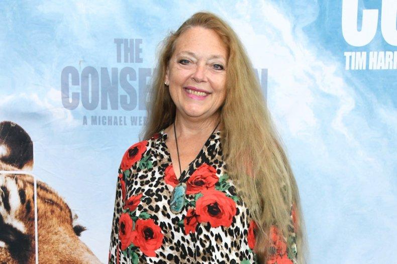 """""""Tiger King"""" star Carole Baskin"""
