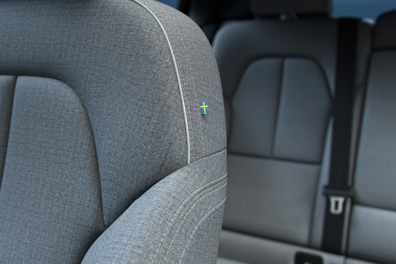 2022 Volvo C40 interior upholstery wool