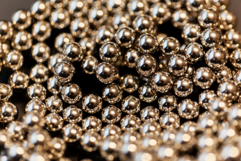 File photo of magnetic balls.