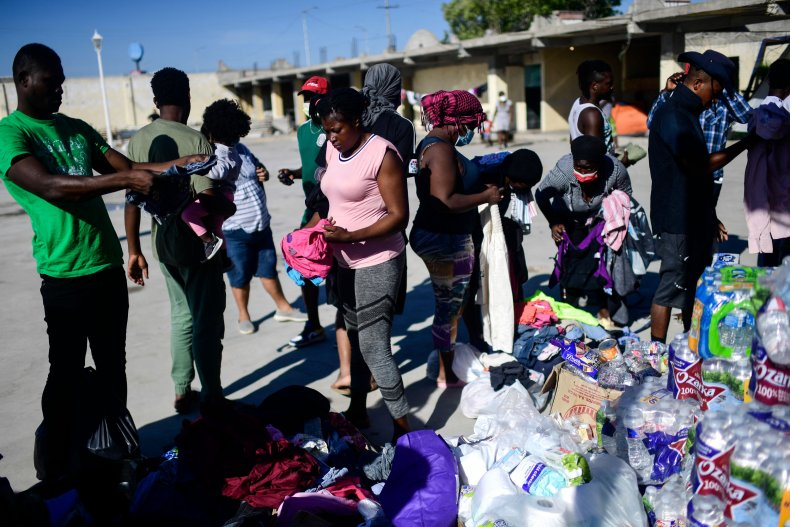 Haitian Migrants Mexico