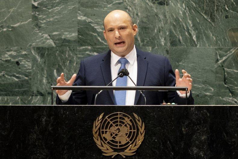 Israel PM Naftali Bennett Iran nuclear weapons