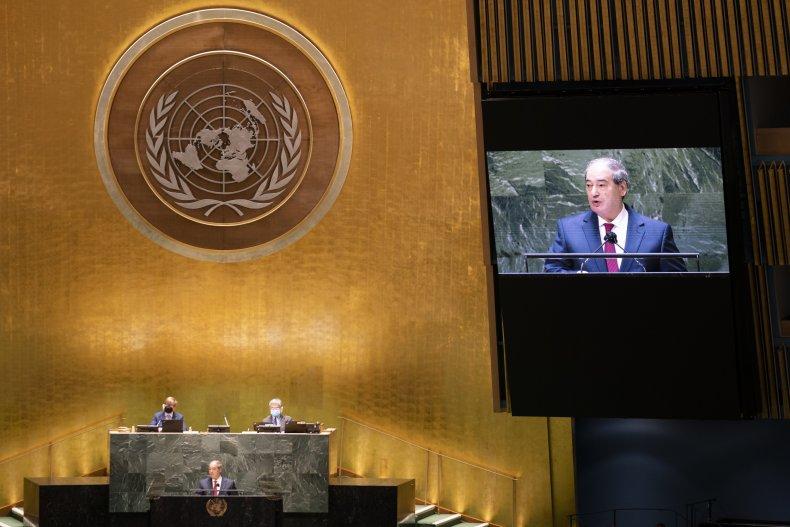 Syrian Foreign Minister U.N. Address