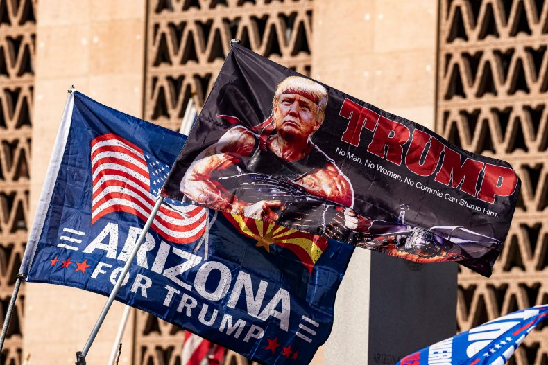 Donald Trump Joe Biden Arizona Republicans Audit