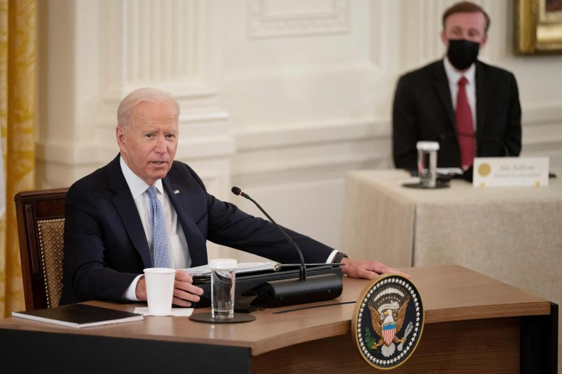 Joe Biden Meets Quad Partners White House