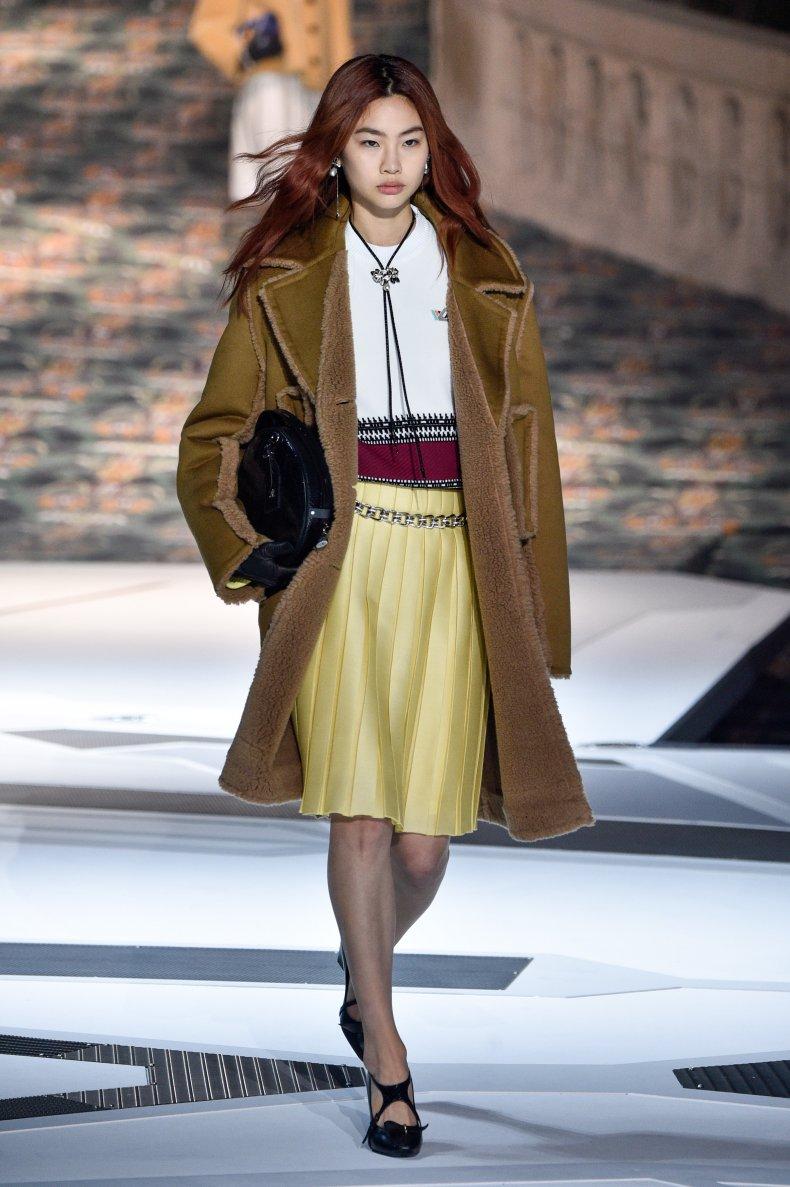HoYeon Jung at 2018 Paris Fashion Week.
