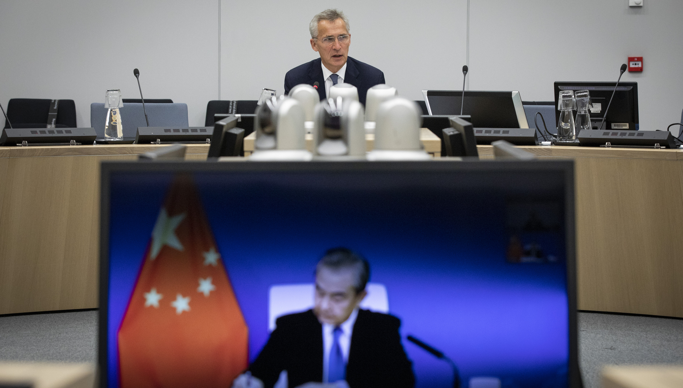 China tells NATO to stay out of Asia