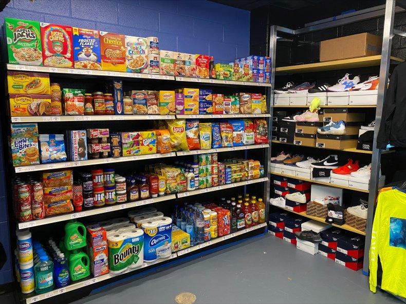 Free Grocery Store in school in Atlanta