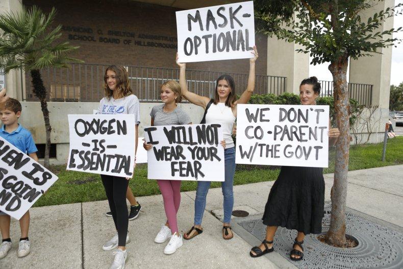 Mask Mandate Protest
