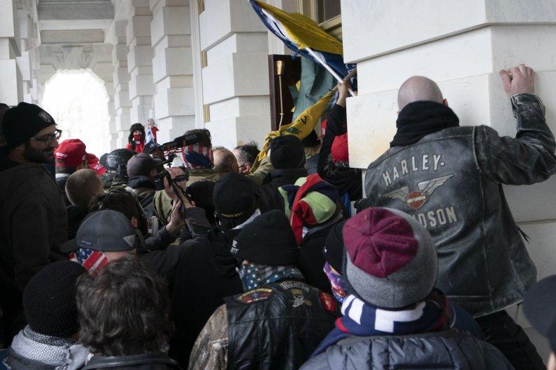 Rebels storm the Capitol