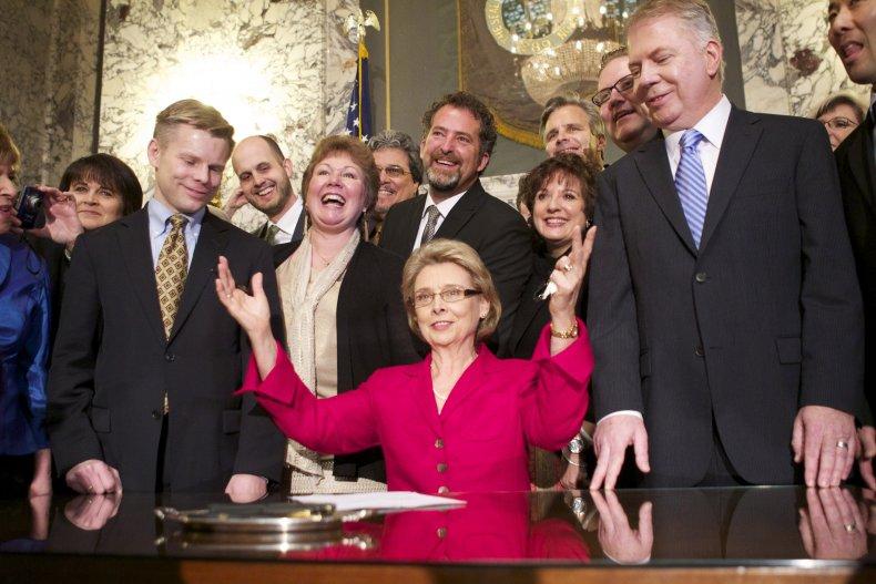 Former Governor Christine Gregoire Pictured in 2012