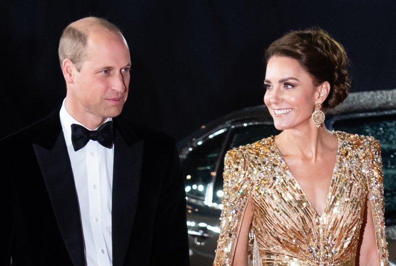 Prince William, Kate at James Bond Premiere