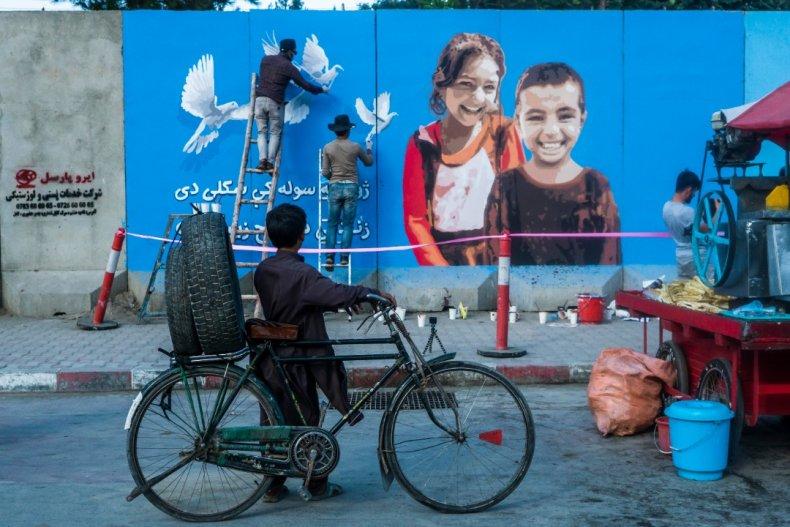ArtLords Peace mural Afghanistan