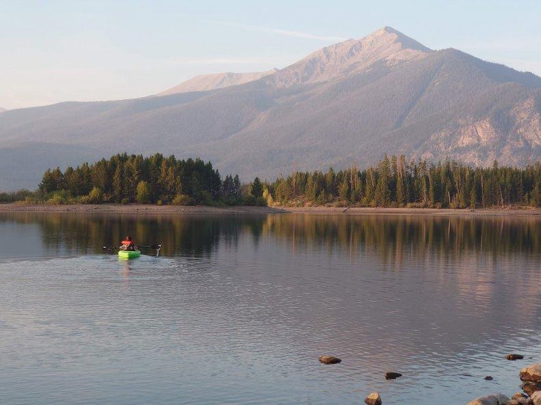 Kayaking to School