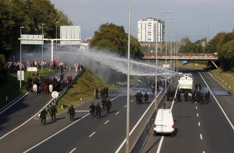 Slovenia COVID Vaccine Protests