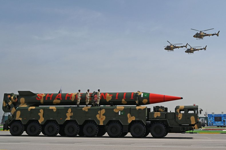 Pakistan, nuclear, missile, parade, National, Day