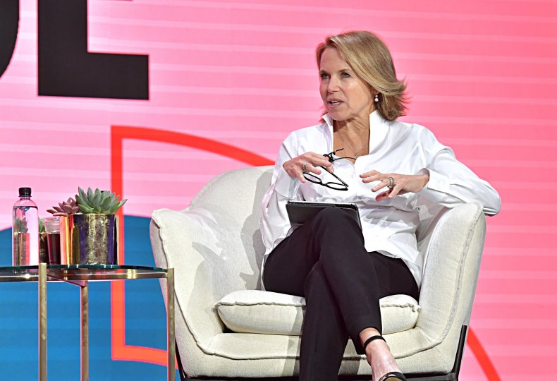 Katie Couric at Los Angeles Conference