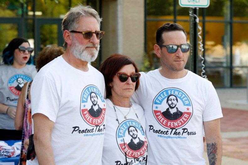 Danny Fenster's Family