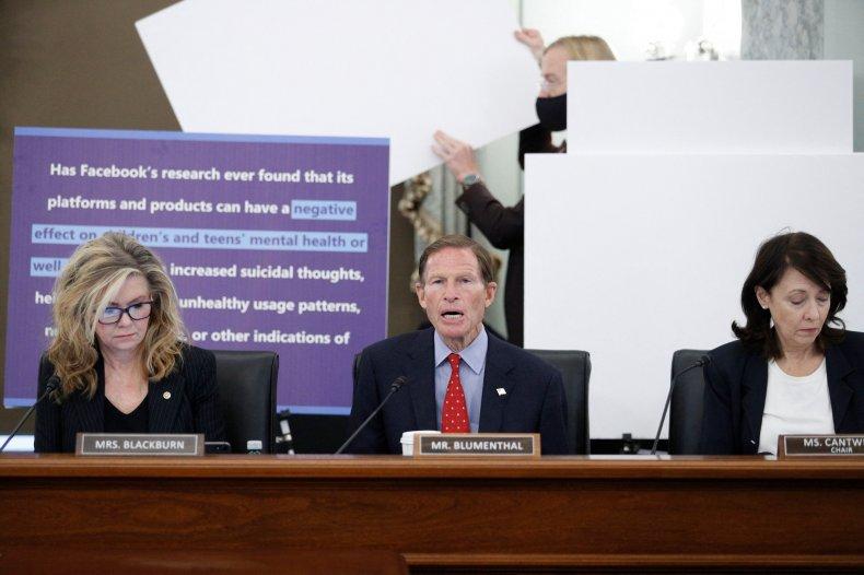 Facebook Instagram Senate Hearing