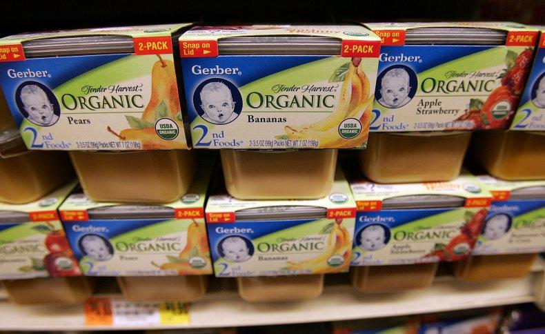 Nestle To Buy Baby Food Maker Gerber