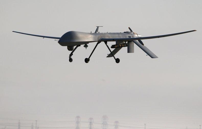 drone strike al Qaeda leader syria pentagon