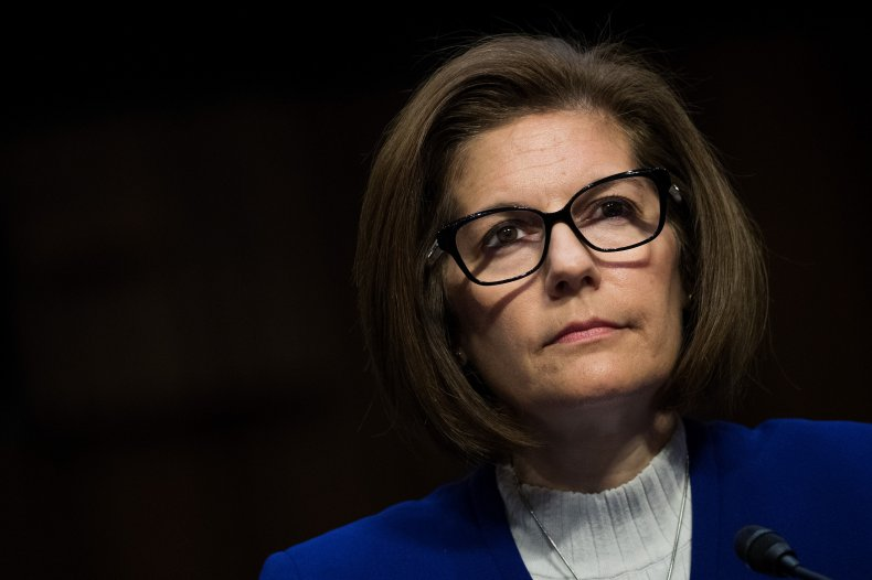 Catherine Cortez Masto Speaks at a Committee