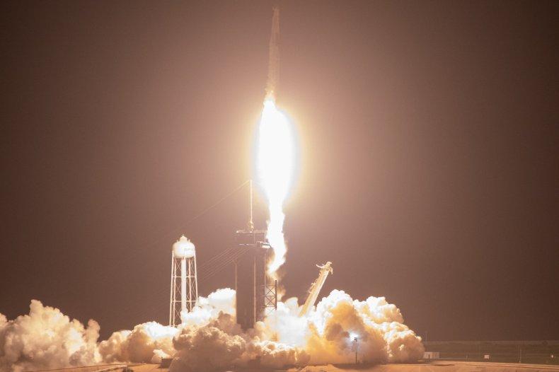 SpaceX Cargo Dragon 2 spacecraft