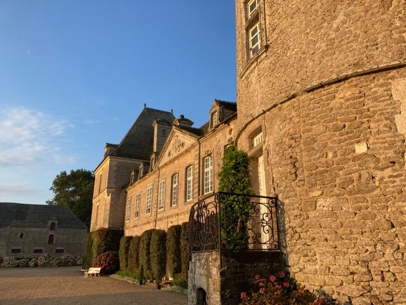 The Tocqueville chateau