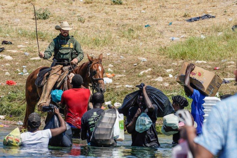 Haitian Refugee Texas Border.