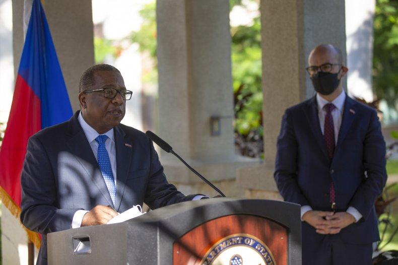 US tour of Haiti
